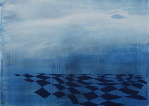 Imperial Beach, 2013 Acryl Auf Nessel, 130x140 Cm, Copyright Galerie Carolyn Heinz